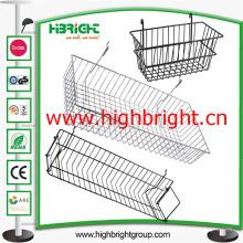 Malha de arame de aço de acessórios prateleira cesta de suspensão