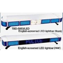 LED Lightbar English Word Display Screen (TBD-5853)