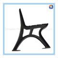 Prateleira da cadeira de jardim de ferro fundido por processamento de fundição de areia