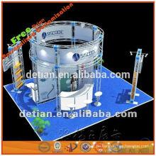 Kleines dekoratives Aluminiumbindersystem hergestellt in China für Handelsmesse