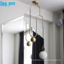 Nordic pendant lamp livingroom Bedroom Glass Ball lighting pendant light