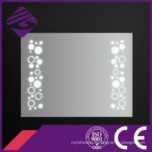 2016 nueva luz rectangular decorativa del espejo del cuarto de baño de la pared del rectángulo del estilo