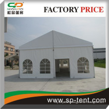 8x15m Small Event Party Tents with Glass Walls for All Kinds of Events Outside, Extension Spaces