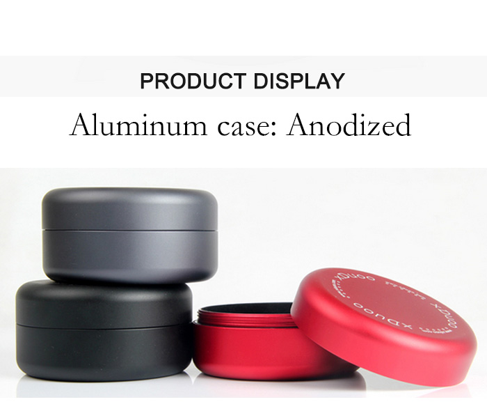 Aluminum case for IME earphone
