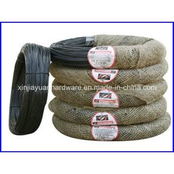 Alambre negro de alta calidad / alambre de recocido recocido negro / alambre de encuadernación