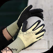 SRSAFETY 13G Knitted Liner Latex Coated firm grip gloves