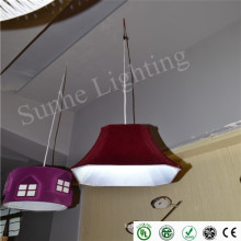 Классический стиль led потолочный светильник новейший dimmable лампа 86-265Volt высокая светящаяся поверхность монтируется