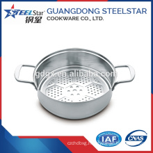 Cookware parts Stainless steel steamer 30cm