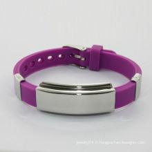 Bracelet en silicone coloré en silicone de 2014