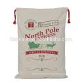Linen Drawstring Christmas Bag Gift Storage Bags Christmas Gift Bag