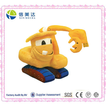 Soft Plush Goodnight Mining Car Stuffed Toy