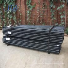 Poteau de clôture en métal bon marché pour le Moyen-Orient