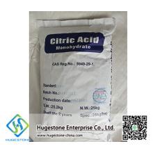 Ácido cítrico do aditivo de alimento anídrico