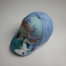 Hot Sale Print Frozen Kids Cap