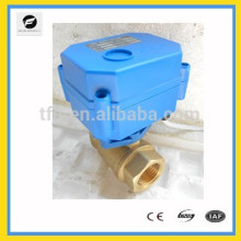 CWX-15Q DC3V-6V Motorised ball motor valve for water treatment