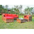 Heiße Verkauf im Freien Patio Rattan / Wicker Sofa Gartenmöbel