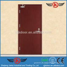 JK-FW9102 Melhor preço de portas de prova de fogo de madeira