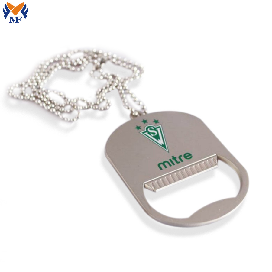 Custom Shape Dog Tag