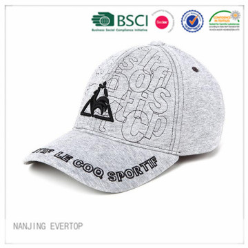 2016 algodón Jersey bordado Sports Cap