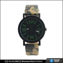 Montre militaire Army Watch, montre en quartz arrière en acier inoxydable pour sport