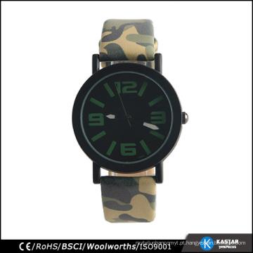 Relógio Army Army Watch, relógio de quartzo traseiro de aço inoxidável para esporte