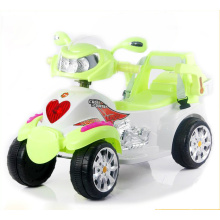 Motocicleta eléctrica del bebé, motocicleta eléctrica de los cabritos con cuatro ruedas