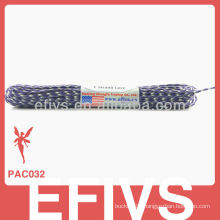 Fashion 2 mm paracord bracelet clasps with 7 strands
