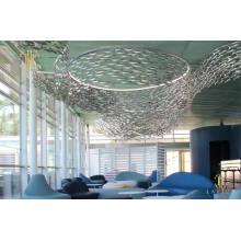 Sushi-Aquarium-Fisch geformter dekorativer Glas-LED-Kronleuchter