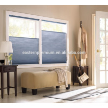 window frame system blackout fabric honeycomb blinds