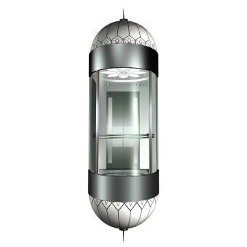Cabine d'ascenseur d'observation confortable