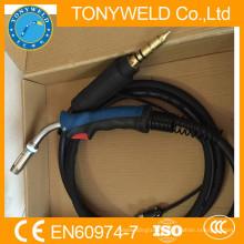 Gas torch welding co2 welding torch Binzel 25AK Miller back connector