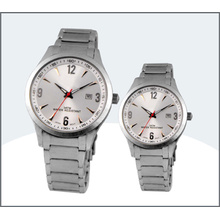 High Grade Stainless Steel Lover Watch, Quartz Couple Watches (15171)