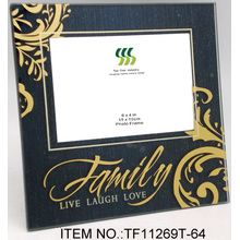 2012 New Design Paste Glass Picture Frame