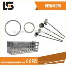 Usinagem CNC Precisão Estampagem Peças de Superfície Brilhante