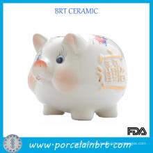 Ceramic Piggy Coin Bank Promoción regalo