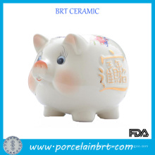 Ceramic Piggy Coin Bank Promotion Gift