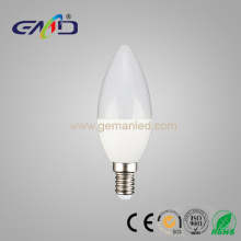 Led candle light 3w C37 E14