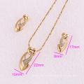 61960-Xuping Fashion Woman Jewlery Set with 18K Gold Plated