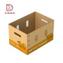 Boîte de papier d'emballage de qualité alimentaire imprimé de bonne qualité