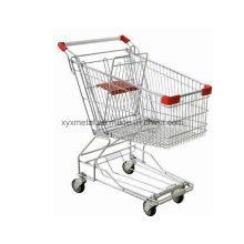 Supermarkt Metall Einkaufen Trolley Cart Save Hand Trolley