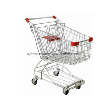 Supermercado Metal Shopping Trolley Cart Hand Trolley