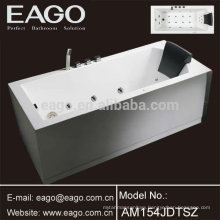 New Design Acrylic Whirlpool Hydromassage Bathtub (AM154JDTSZ)