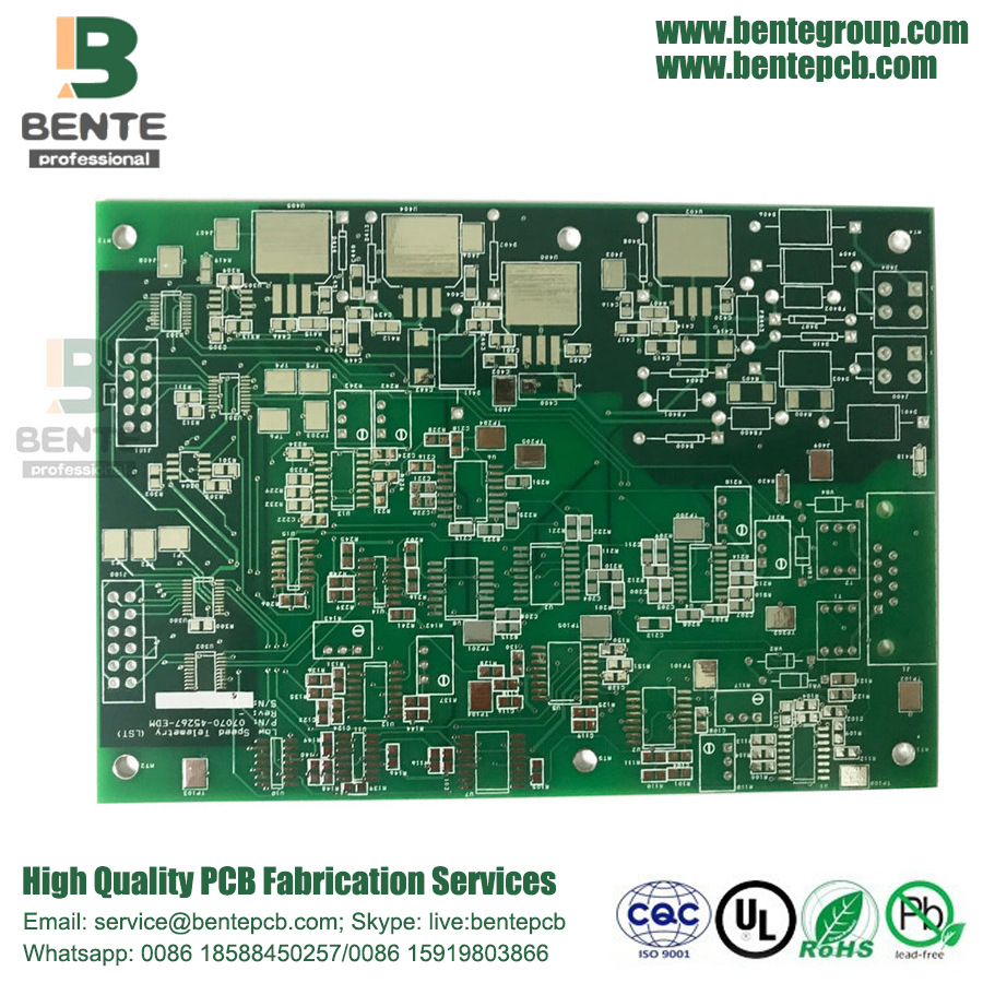 FR4 Tg150 Quickturn PCB 4 Layers 1oz