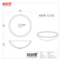 KKR Composite Artificial Stone Basin Stone Shallow Sink And Basin