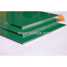 Metal Sheet Facade/Wall Panels Decorative Pl-3006 Pearl Green