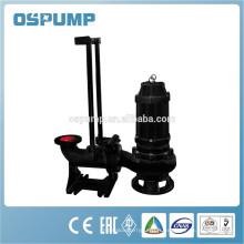 Pompe submersible pour eaux usées / eaux usées