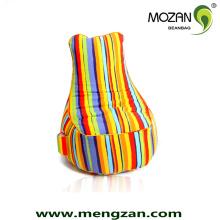 Мягкие хлопчатобумажные ткани ткани стул диван бин сумки навалом