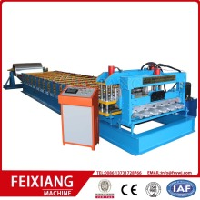 Glasad tegelfärg Metal Roofing Making Machine