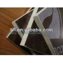 Высококачественная черно-коричневая пленка, покрытая опалубочной фанерной плиткой для строительства