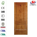 Rustic Knotty Alder 2-Panel Solid Core Interior Door